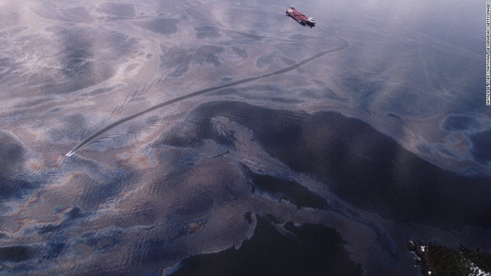 Twenty five years ago on March 24, more than 11 million gallons of crude oil spilled into Alaska's Prince William Sound after Capt. Joseph Hazelwood ran the Exxon Valdez into Bligh Reef.