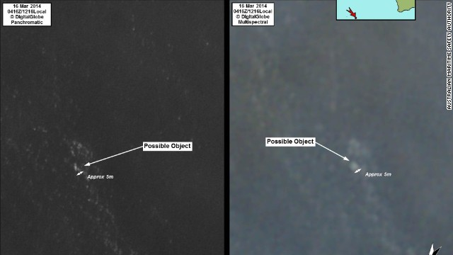 What do satelitte images really show?