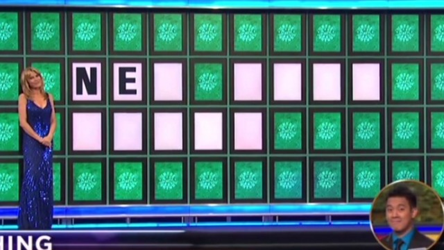 Epic 2-letter 'Wheel of Fortune' win