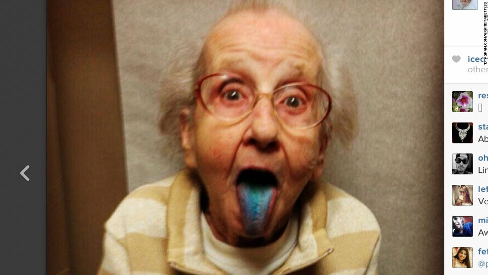 Instagram celebrity Grandma Betty dies of lung cancer - CNN