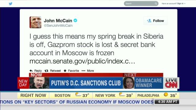 Inside Politics: Putin's D.C. Sanctions