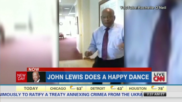 Inside Politics: John Lewis is 'Happy'