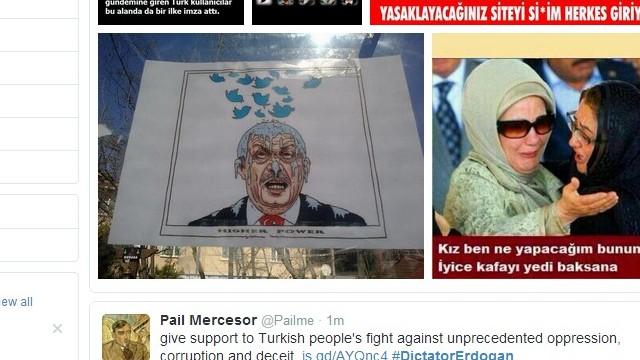 Twitter users circumvent Erdogan's ban