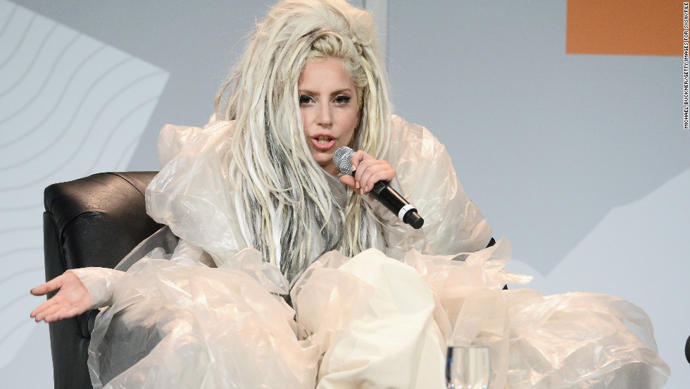 "Lady Gaga gave a performance at the 2014 SXSW festival that included ""vomit art,"" which she later explained at a keynote address was all about promoting the freedom of artistic expression. ""Things that are really, really strange and feel really wrong can really change the world,"" she said. ""I'm not saying vomit's going to change the world. ... It's truly just what we wanted to create and do."""