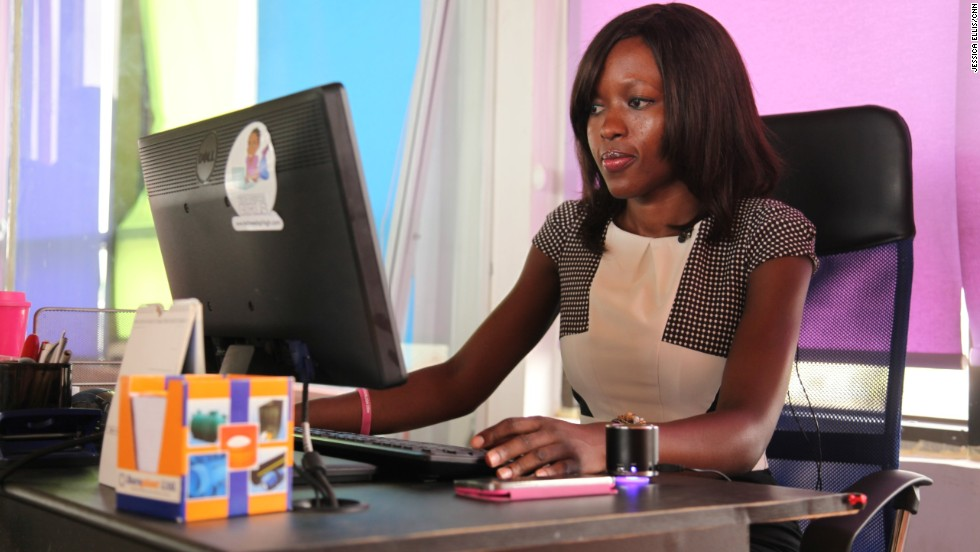 Agyare's startup builds corporate websites and e-commerce portals for more than 30 small and medium businesses in Accra.
