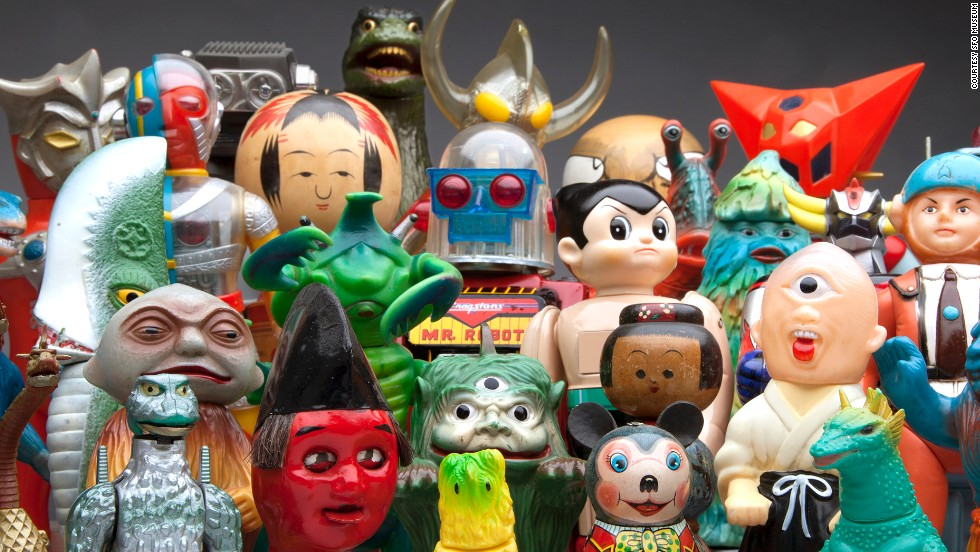 Most Popular Toys Ever : Godzilla vs hello kitty ultra toy story hits sfo cnn
