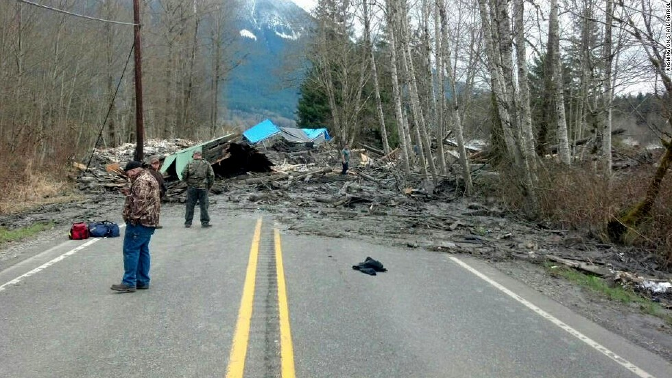 "The landslide cut off the small town of Darrington and prompted an evacuation notice for fear of a potentially ""catastrophic flood event,"" authorities said."