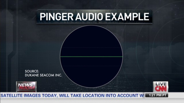 What does the 'ping' sound like?