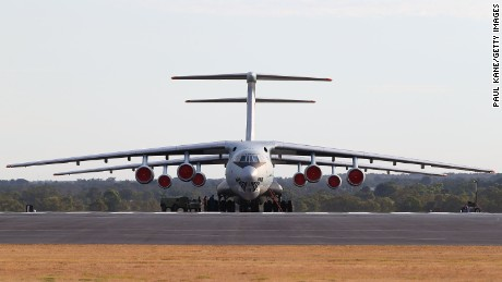 The Il-76: Used for firefighting, emergency response transport and music videos.
