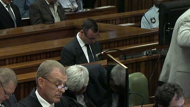 Texts to Steenkamp reveal jealousy, anger