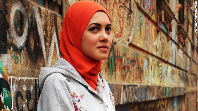 The veiled female rapper tackling Egyptian taboos head on