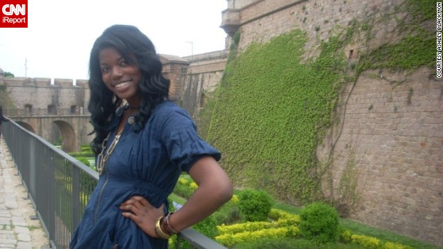 Ashley Blackmon studied abroad in Spain.