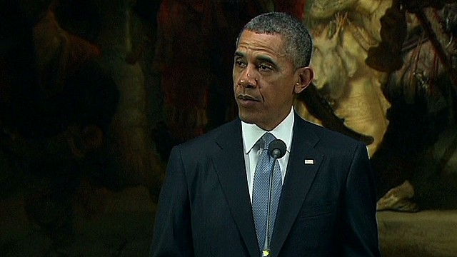 Obama speaks to 'unity' in G8 decision