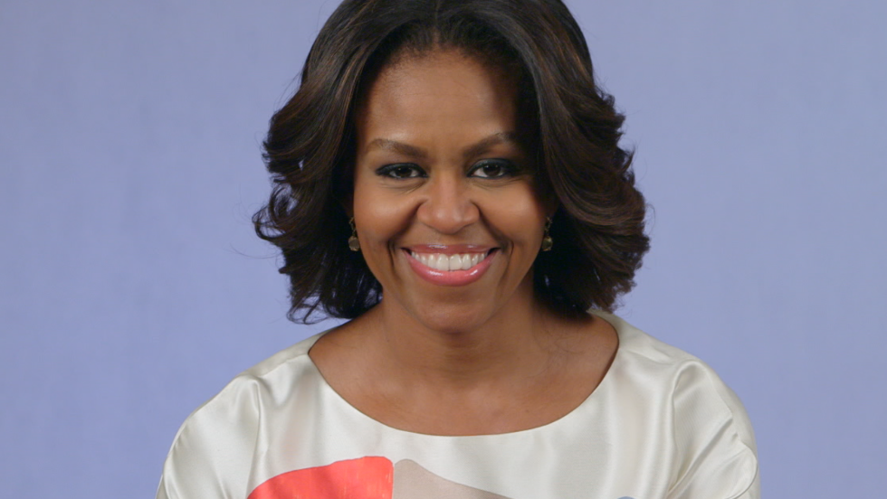 First lady Michelle Obama receives CV from