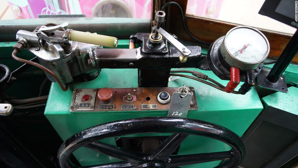 Hong Kong Tramways has slowly been revamping its trams, one by one. Improvements include the addition of extra handles and passenger information systems. However some older elements are reused, such as the controller and wheel -- both are more than 80 years old.