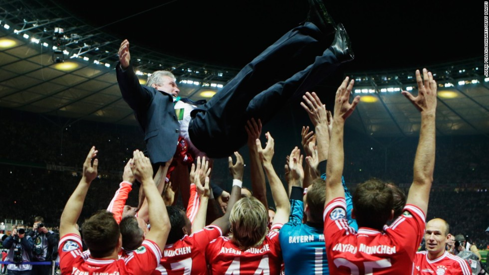 Bayern's incredible sequence of league results started under previous boss Jupp Heynckes. The 68-year-old oversaw a treble-winning season last year.