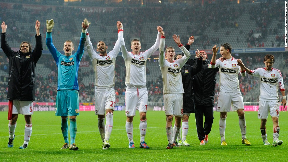 It's been 52 games now since Bayern Munich lost a league game. The date was October 28 2012, the score 2-1 and the team was Bayer Leverkusen -- seen here celebrating what has proved an historic result.
