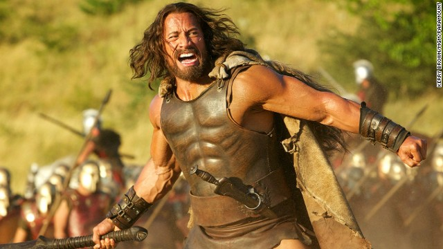 Dwayne Johnson stars in the action film 'Hercules.""