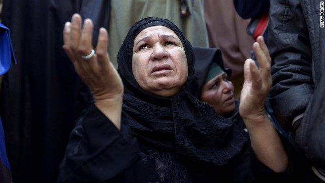 Egypt urges 'perspective' in death sentence