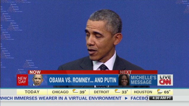Inside Politics: Obama v. Romney & Putin