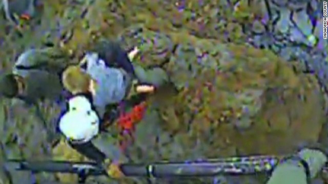 See 4-year-old pulled from landslide