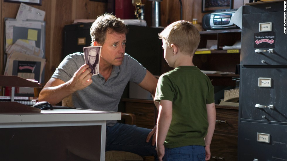 "Greg Kinnear and Connor Corum star in ""Heaven is For Real,"" a film based on a best-selling book penned by a Christian pastor."