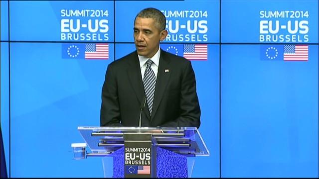 Obama: Russia stands alone