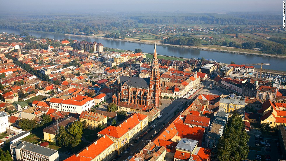 "<strong>Osijek, Slavonia</strong><br />The neo-gothic Church of St. Peter and Paul (Crkva sv. Petra i Pavla) dates to the 1890s. The red brick structure's multi-tiered spires have become a recognizable landmark in Osijek.<em><br /><a href=""http://www.svpetaripavao.hr/website/"" target=""_blank"">Church of St. Peter and Paul</em></a><em>, Ulica Paul Pejačevića 1, Osijek, Slavonia; +385 31 310 020</em>"