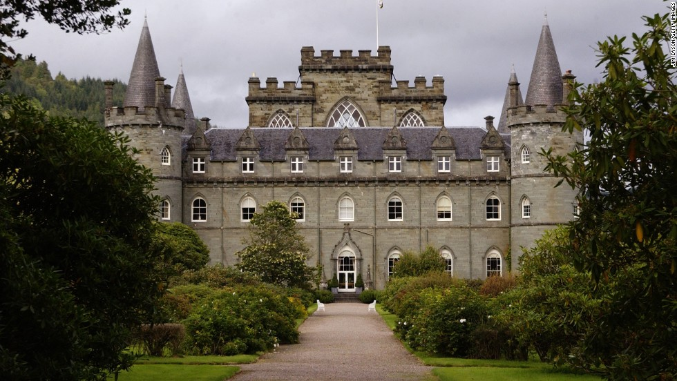 "Inveraray Castle starred in ""Downton Abbey's"" season 3 Christmas episode."