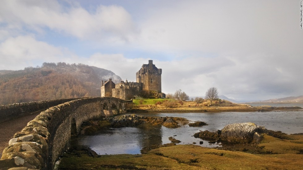 Eilean Donan dates to the 13th century and was restored in the early 20th century. It's often featured in television shows and movies.