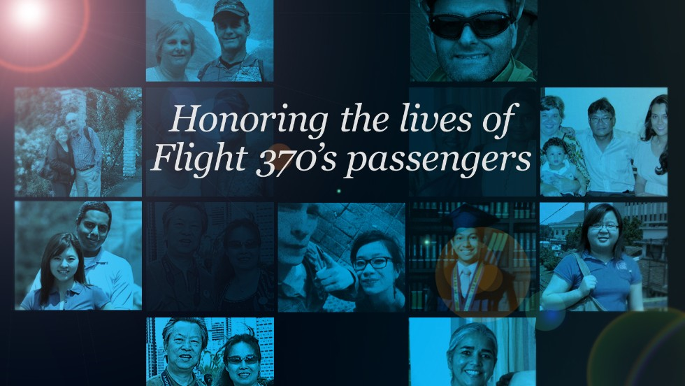 There is still no way to know for sure why Flight 370 ended, but we are learning more about the lives of those on board. CNN is remembering them through snapshots shared with us.