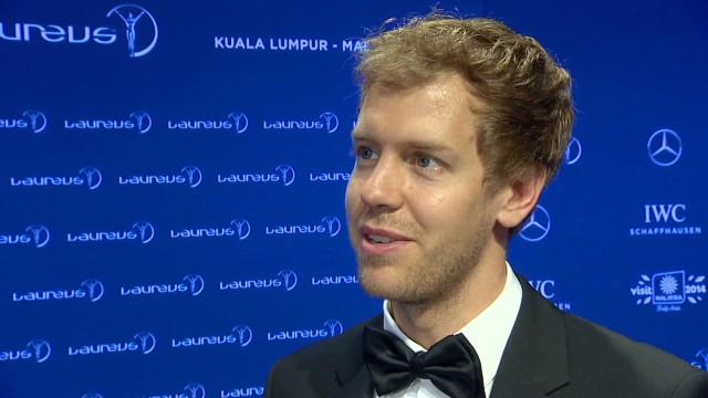 Vettel and Franklin honoured by Laureus