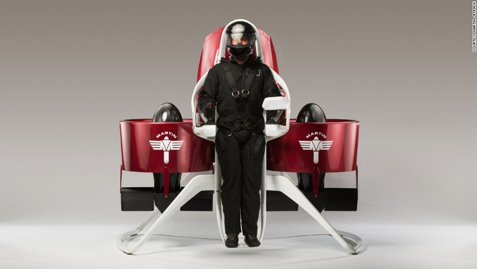 Introducing the Martin Jetpack, the brainchild of New Zealand inventor Glenn Martin.