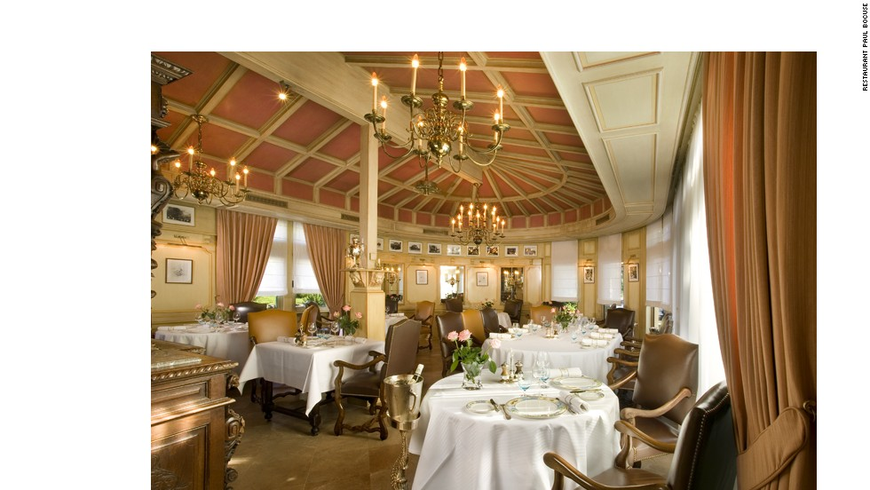 Chef Bocuse is famed for the truffle soup he created for the French president in 1975.