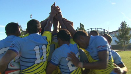 Behind the scenes with Fiji Sevens