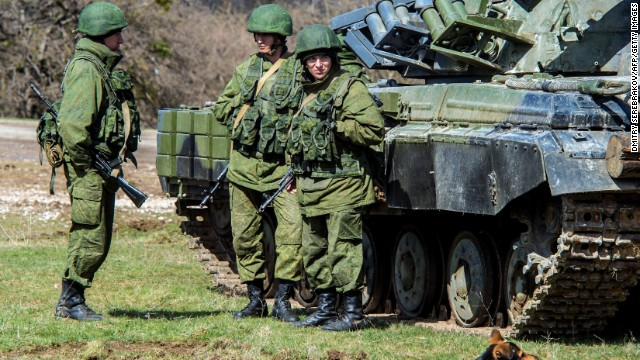 40,000 Russian troops on Ukraine border