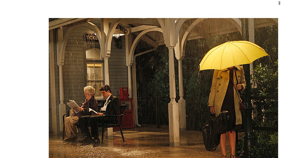 The Mother's yellow umbrella has shown up countless times over the years and we recently got a glimpse of it one more time just moments before she was going to meet Ted. We'll see you at that train station at the end of the finale.