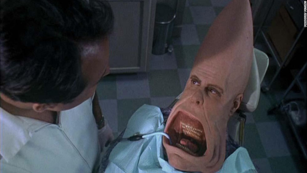 """The Coneheads"" is one of several ""spin-offs"" from ""Saturday Night Live."" The film about a family of aliens was released in 1993."