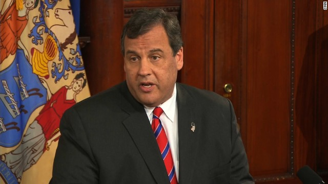 See Christie, reporter heated exchange