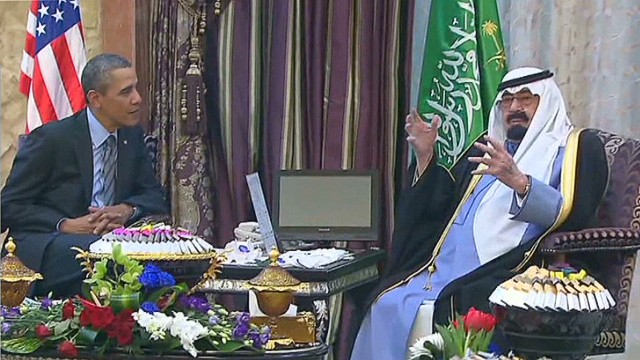 Allies at odds: U.S., Saudi leaders meet