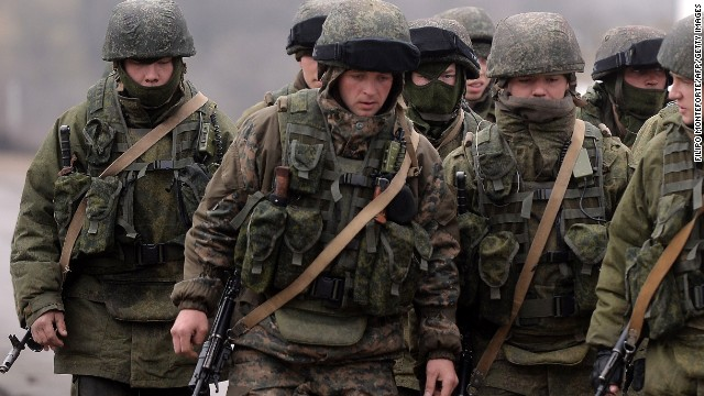 Ukrainians prepare for battle