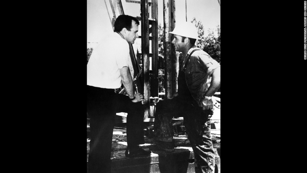 Before he entered politics in 1964, Bush made a fortune drilling for oil in Texas. He created the Zapata Offshore Co., which introduced a new era in the drilling industry.