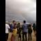 MH370 perth rainbow cnn photo