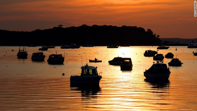 Poole, on the southern coast of England, is close to beaches said to be among the country's cleanest and dirtiest.