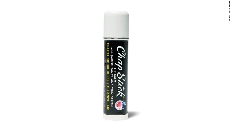 ChapStick containers were used to hide microphones during the Watergate break-in.