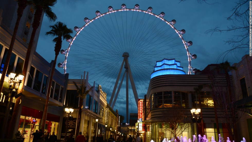 The Las Vegas High Roller officially opens Monday, March 31, 2014, joining an impressive collection of Ferris wheels around the world.