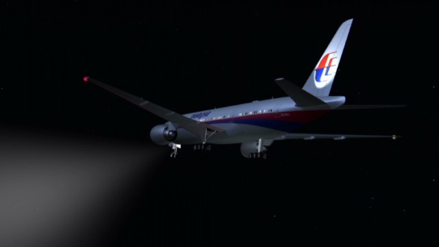 Timeline of the hunt for Flight 370