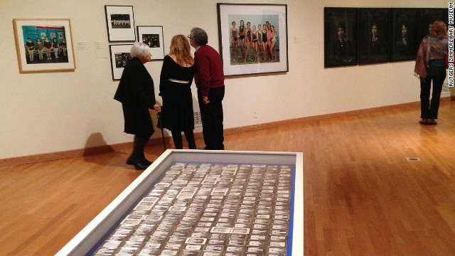 "The photographs are being shown as part of ""Striking Resemblance: The Changing Art of Portraiture""at Zimmerli Art Museum at Rutgers University."