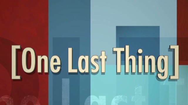'One Last Thing': Obamacare