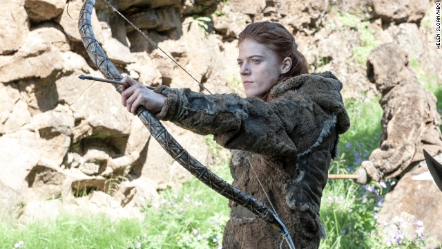 "Rose Leslie played Ygritte on ""Game of Thrones."""